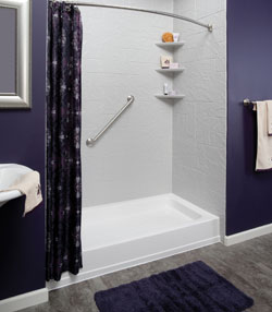 Bathroom remodeling indianapolis shower liners tub liners for Bathroom remodel indianapolis