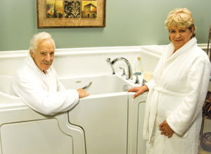 A Handicap Bathtub Can Help Mobility Challenged Residents Of Indianapolis Muncie Kokomo Surrounding Communities