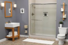 New Walk In Shower or tub to shower conversion replacement installation Indiana