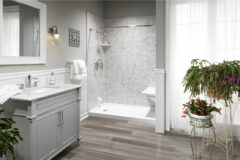 Walk In Shower or Tub to Shower Conversion Replacement Installation Indiana
