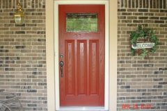Cherry stain fiberglass entry door_jpeg