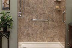 Convert tub to shower L.J. Stone
