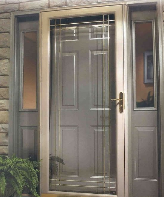 Glass Storm Doors : Lj stone co inc indiana replacement windows doors