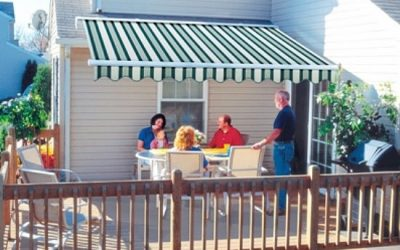 Fabric Awning - Retractable fabric awning_jpeg