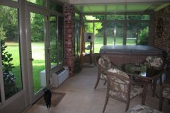 Gable Sunroom Interior_L J Stone