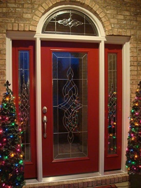 Red Fiberglass Entry Door Images Doors Design Modern