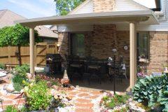 Pavilion patio cover