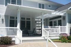 Pavilion patio top