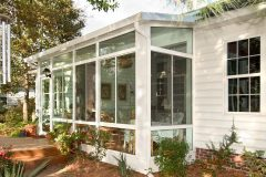 Studio Sunroom White Transoms_L J Stone