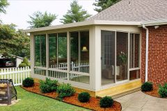 Sunroom all glass