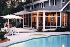 White Studio Roof Sunroom pool_jpeg