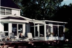 White Studio Roof Sunroom w Glass Transoms_jpeg