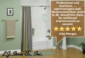 LJ Stone Bathtub replacement review